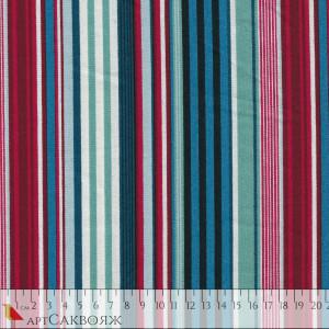 Ткань Deckchair Stripe Makower