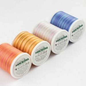 Нить для вышивания и квилтинга Madeira Cotona №30 Multicolor 400м
