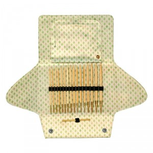 Набор круговых бамуковых спиц со сменными лесками ADDICLICK BAMBOO