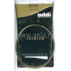 Спицы круговые супергладкие никель №2.5, 100см