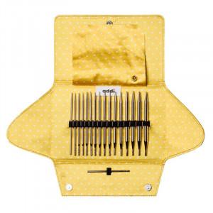 Набор круговых никелированных спиц со сменными лесками ADDICLICK MIX