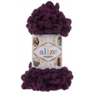 Пряжа Alize Puffy сливовый 111
