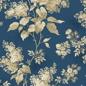 Ткань Lilacs Full Moon Blue Sky Andover Fabrics