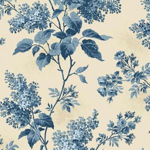 Ткань Lilacs Beach House Blue Sky Andover Fabrics