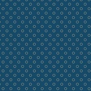 Ткань Bubbles Full Moon Blue Sky Andover Fabrics