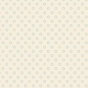 Ткань Bubbles Cirrus Blue Sky Andover Fabrics