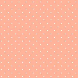 Ткань Sweet Shoppe Candy Dot Peach Melba Andover Fabrics