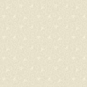 Ткань Flared Flower Vine Cream Fraiche Andover
