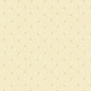 Ткань Meandering Lines W Leaves Cream Fraiche Andover