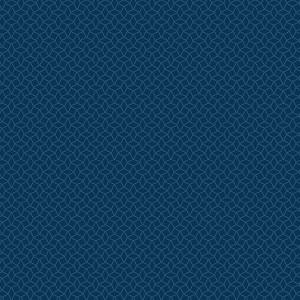 Ткань Dotted Interlocking Star Blue Indigo Andover