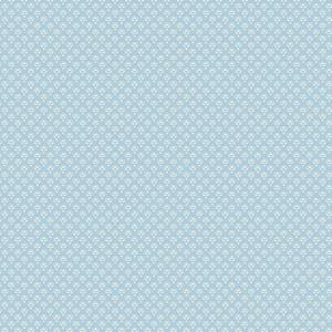 Ткань Set Pearl Flower Blue Indigo Andover
