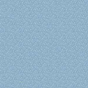 Ткань Allover Vine W Leaf Blue Indigo Andover