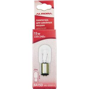 Лампочка для швейной машины цокольная 20*50 мм Aurora