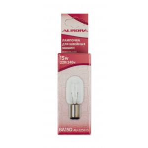 Лампочка для швейной машины цокольная 22x56мм Aurora