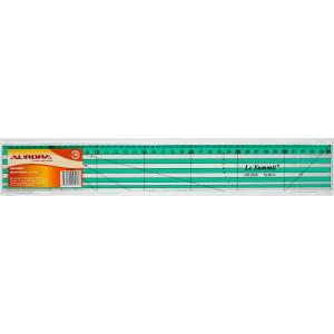 Линейка для пэчворка 5х35 см, AURORA