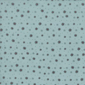 Ткань Quilter`s Garden Flowers Blue Grey