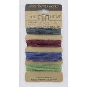 Шнуры Конопляные Hemp Cord Earthy Pastel #10