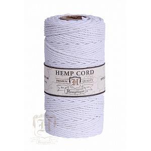Шнур Конопляный На Катушке Hemp Cord White #48