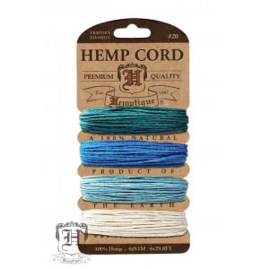 Шнуры Конопляные Hemp Cord Shades Of Aquamarine #20
