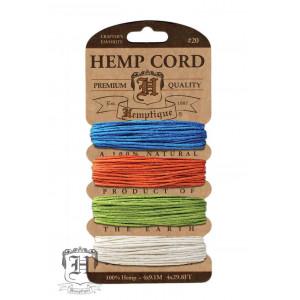Шнуры Конопляные Hemp Cord Bright #20