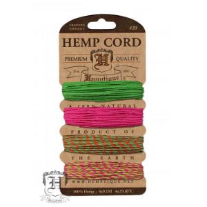 Шнуры Конопляные Hemp Cord Summer Shindig #20