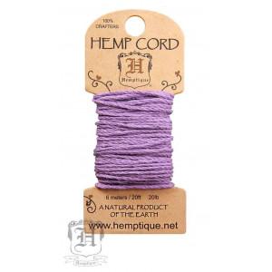 Шнур Конопляный Hemp Cord Lavender