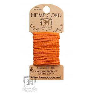 Шнур Конопляный Hemp Cord Orange