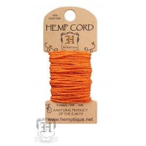 Шнур Конопляный Hemp Cord Pumpkin Pie