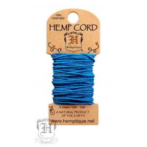 Шнур Конопляный Hemp Cord Turquoise