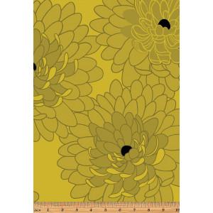 Ткань BLOOM CITRINE Fresh Bloom Benartex
