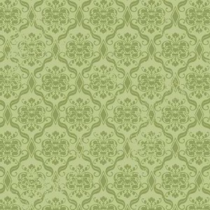 Ткань DAMASK LT. GREEN Quilting Treasures