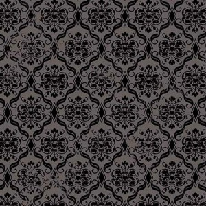 Ткань DAMASK CHARCOAL Quilting Treasures