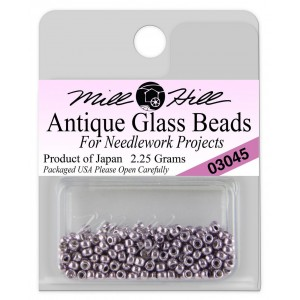 Бисер Antique Glass Beads Metallic Lilac Mill Hill