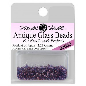 Бисер Antique Glass Beads Purple Passion Mill Hill