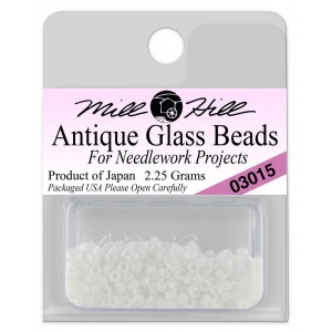 Бисер Antique Glass Beads Snow White Mill Hill