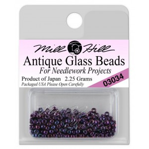 Бисер Antique Glass Beads Royal Amethyst Mill Hill