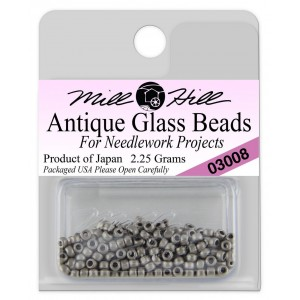 Бисер Antique Glass Beads Pewter Mill Hill