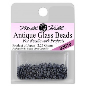 Бисер Antique Glass Beads Slate Blue Mill Hill