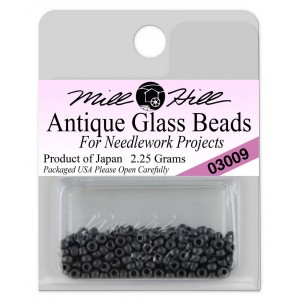 Бисер Antique Glass Beads Charcoal Mill Hill