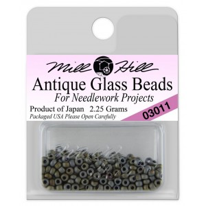 Бисер Antique Glass Beads Pebble Grey Mill Hill