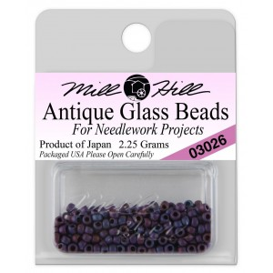 Бисер Antique Glass Beads Wild Blueberry Mill Hill