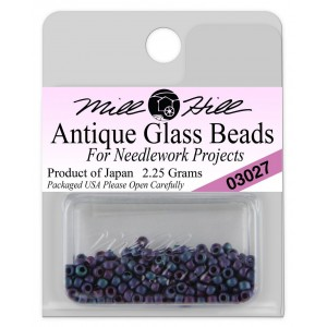 Бисер Antique Glass Beads Caspian Blue Mill Hill
