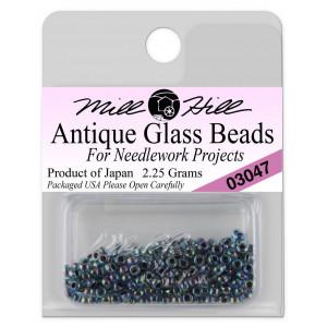 Бисер Antique Glass Beads Blue Iris Mill Hill