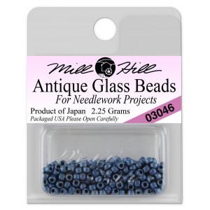 Бисер Antique Glass Beads Matte Cadet Blue Mill Hill