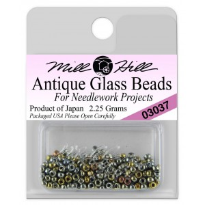 Бисер Antique Glass Beads Abalone Mill Hill