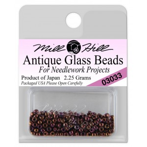 Бисер Antique Glass Beads Claret Mill Hill