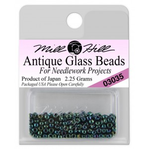 Бисер Antique Glass Beads Royal Green Mill Hill