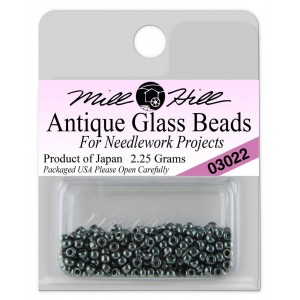 Бисер Antique Glass Beads Royal Teal Mill Hill
