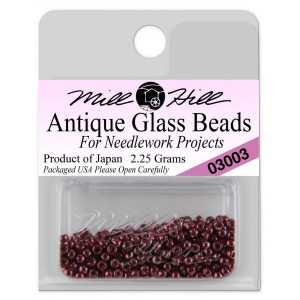 Бисер Antique Glass Beads Cranberry Mill Hill