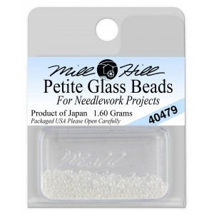 Бисер Petite Glass Beads White Mill Hill